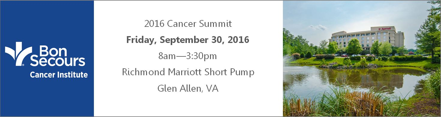 2016 Cancer Summit